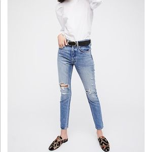Levi's 501 Skinny Jeans High Waist Old Hangouts 27